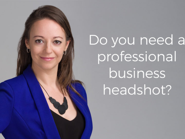 Do you need a professional business headshot?