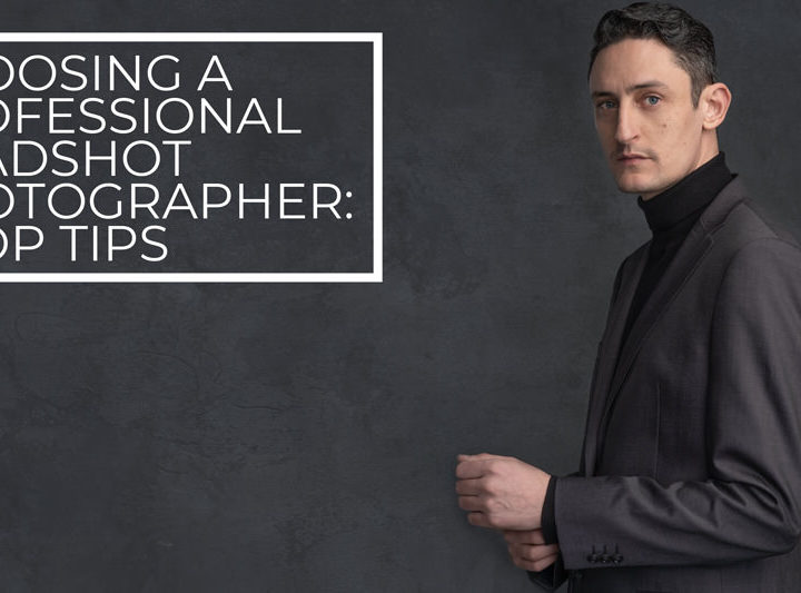Choosing a professional headshot photographer: 5 top tips