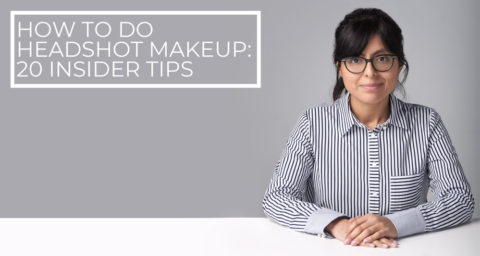 How to do headshot makeup photo