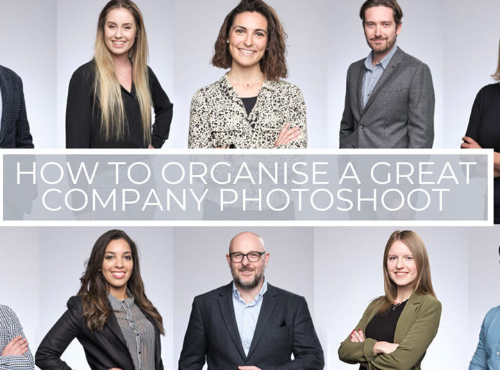 How to organise a great company photoshoot