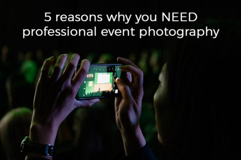 Blog title for event and conference photography in Barcelona.