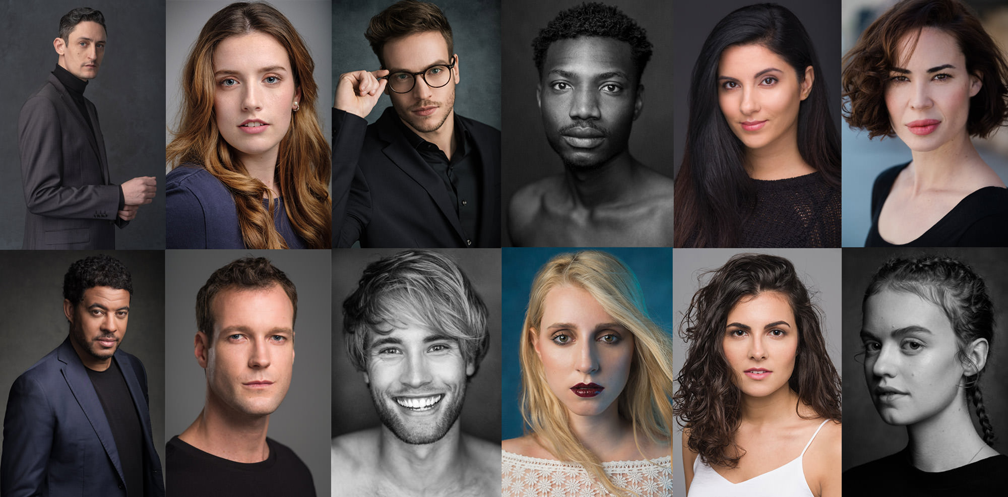 Examples of the best actor headshots in Barcelona