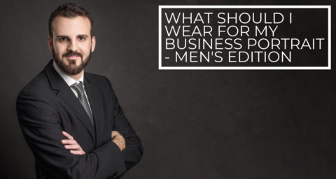 Blog What to wear for business portrait