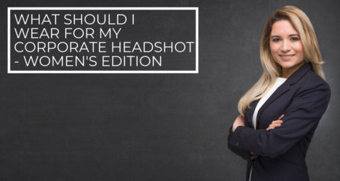 Blog banner women what to wear for corporate headshot